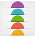 Abstact circles template Color icon vector image