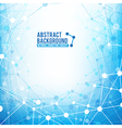 Abstract background network connect concept vector image