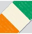 Cote d Ivoire grunge flag vector image vector image