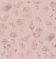 flower pattern rose gold elegant background