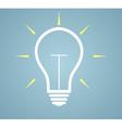 idea concept - bulb vector image vector image
