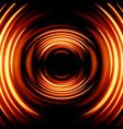 magic glowing light swirl trail trace effect vector image