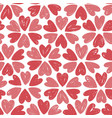 romantic seamless pattern floral pattern hand vector image vector image