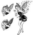 fairy lines vector image