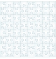 Abstract gray puzzle background template vector image