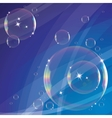 Background with soap bubbles vector | Price: 1 Credit (USD $1)