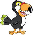 Cartoon toucan vector image vector image