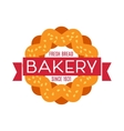 Collection of vintage retro bakery logo vector image