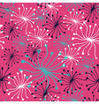 Dandelion pattern vector image vector image