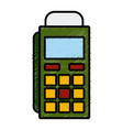 dataphone payment service vector image