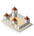 Medieval castle vector image vector image