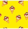 Pattern Ice Cream eps 10 vector image vector image