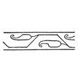 persian design of neighboring civilizations have vector image vector image