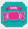 candy design vector image