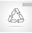 Recycle Icon Conceptual Symbol vector image