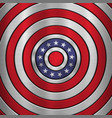 4th july independence day badge vector image vector image