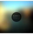background Blurred Defocused Lights vector image