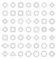 Frame Collection vector image vector image