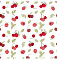 seamless berry pattern vector image