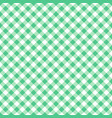 seamless green classic table cloth texture vector image vector image