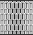 seamless pattern of elongated hexagons vector image vector image