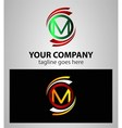 Set Of Alphabet Symbols And Elements Of Letter M l vector image vector image