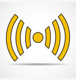 wifi sign wireless network icon wifi zone vector image