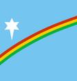nagaland state flag vector image
