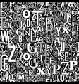 abc typeset vector image