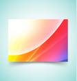 abstract waves set 8 vector image vector image