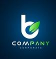 Alphabet small letter b logo icon design vector image