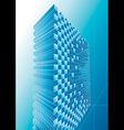 Blue Structure Abstract vector image