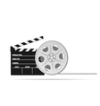 film tape old part two vector image vector image