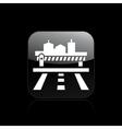 frontier icon vector image vector image