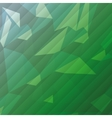 geometric green tones background patterns icon vector image