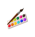 paints isolated vector image