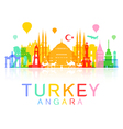 Turkey Travel vector image vector image