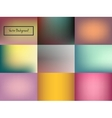 Abstract blurred colorful background vector image