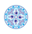 abstract ethnic logo vector image vector image
