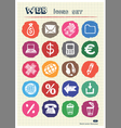Business shopping and work web icons set vector | Price: 1 Credit (USD $1)
