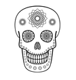 Ornamental Skull vector image