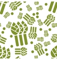 asparagus seamless pattern vector image vector image