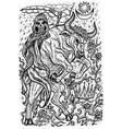 bull symbols vector image