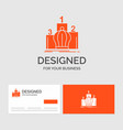 business logo template for crown king leadership vector image vector image