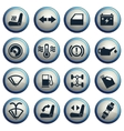 car interface sign vector image vector image