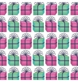 giftbox present pattern icon vector image