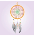 Indian Dream catcher Color vector image