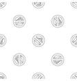 no money bribery pattern seamless vector image vector image