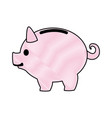 piggy banking concept safe money icon vector image