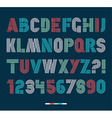 Retro stripes funky fonts settrendy elegant retro vector image vector image